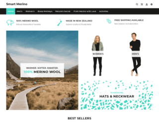 smart-merino.myshopify.com screenshot