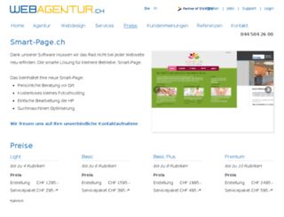 smart-page.ch screenshot