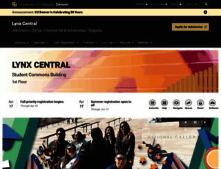 smart.ucdenver.edu screenshot