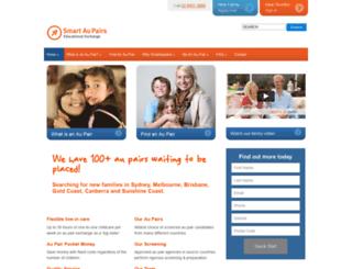 smartaupairs.com.au screenshot