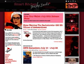 smartbitchestrashybooks.com screenshot