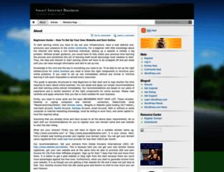 smartbiznet.wordpress.com screenshot