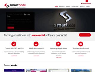 smartcode.gr screenshot