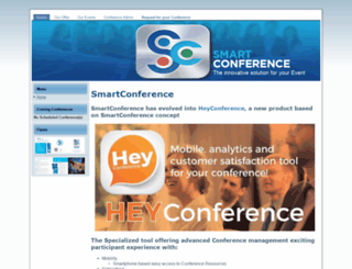 smartconference.eu screenshot