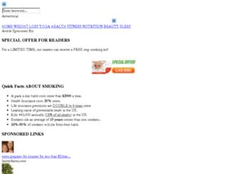 smarterhealthdigest.com screenshot