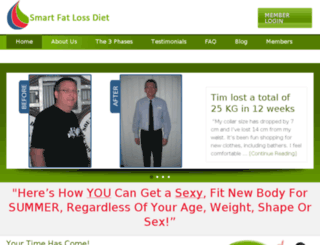 smartfatlossdiet.com.au screenshot