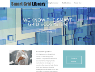 smartgridlibrary.com screenshot