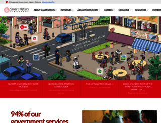smartnation.sg screenshot