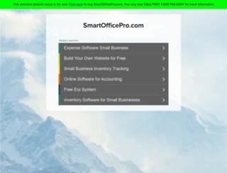 smartofficepro.com screenshot