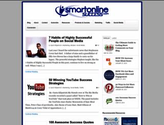 smartonlinesuccess.com screenshot