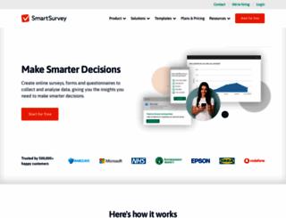 smartsurvey.co.uk screenshot