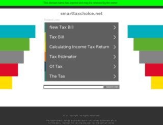 smarttaxchoice.net screenshot