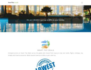 smarttripdeals.com screenshot