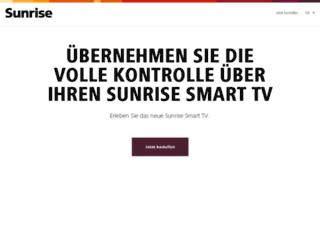 smarttv.sunrise.ch screenshot