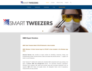 smarttweezers.com screenshot
