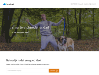 smartwatchnederland.nl screenshot