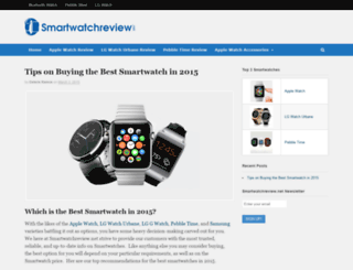 smartwatchreview.net screenshot