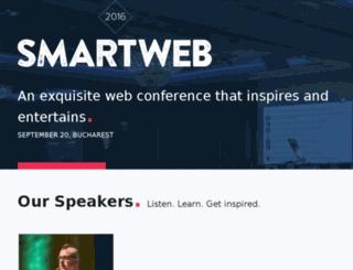 smartwebconf.com screenshot