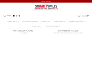 smartywalls.co.uk screenshot