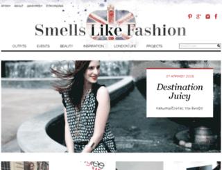 smellslikefashion.com screenshot