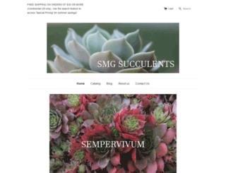 smgsucculents.com screenshot