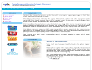 smile.telkom.co.id screenshot