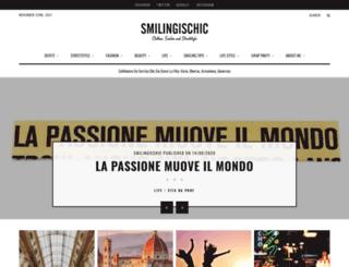 smilingischic.com screenshot