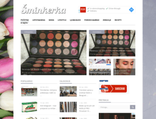 sminkerka.com screenshot