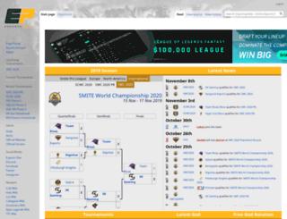 smite.esportspedia.com screenshot