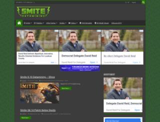 smitedatamining.com screenshot