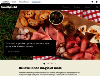 smithfield.com screenshot