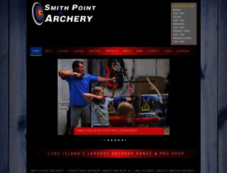 smithpointarchery.com screenshot