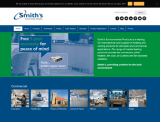 smiths-env.com screenshot