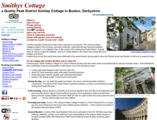 smithyscottage.co.uk screenshot