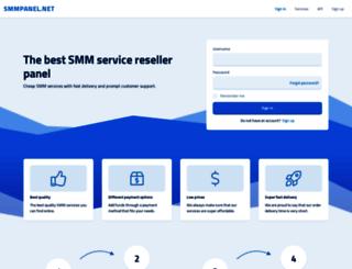 smmpanel.net screenshot