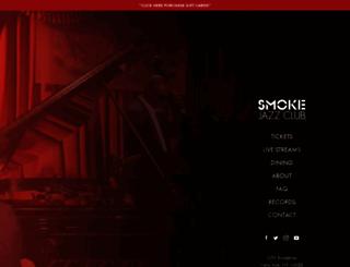 smokejazz.com screenshot