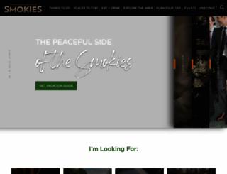 smokymountains.org screenshot