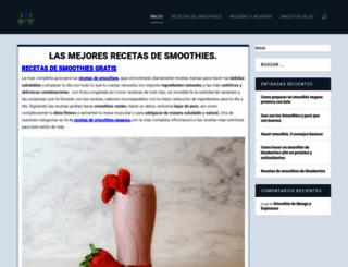 smoothies.website screenshot