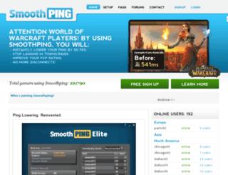 smoothping.com screenshot
