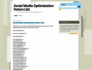smovoters.wordpress.com screenshot