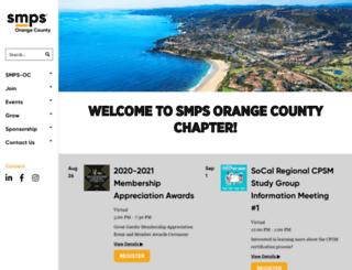 smps-oc.org screenshot