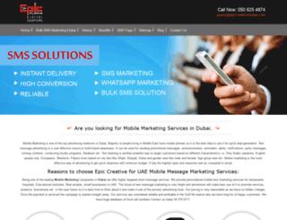 sms-marketing-dubai.com screenshot