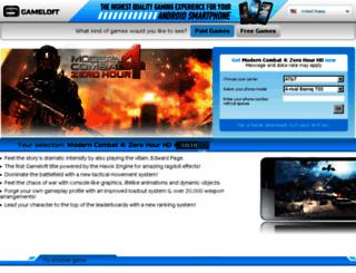 sms.gameloft.com screenshot