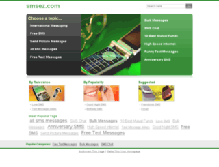 smsez.com screenshot