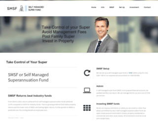 smsfselfmanagedsuperfund.com.au screenshot