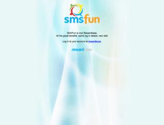 smsfun.com.au screenshot