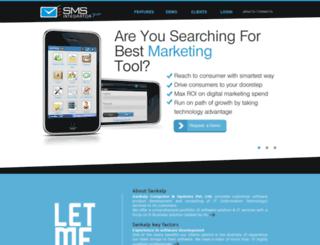 smsintegrator.com screenshot