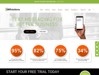 smsmalls.co.za screenshot