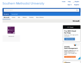 smu.onthehub.com screenshot