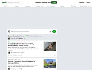 smyrna.patch.com screenshot